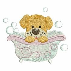 Bath Time Cuties 2, 3 - 4x4 | What's New | Machine Embroidery Designs | SWAKembroidery.com Ace Points Embroidery