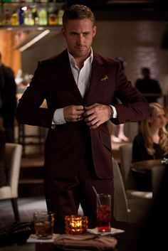Crazy, Stupid, Love: Not everyone can rock a burgundy coat, but Gosling's character Jacob makes it look easy.