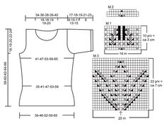 """DROPS top with short sleeve and lace pattern in """"Muskat"""". Size XS - XXXL ~ DROPS Design"""
