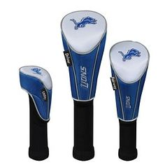 McArthur Sports NFL Golf Headcover Matching System - Detroit Lions