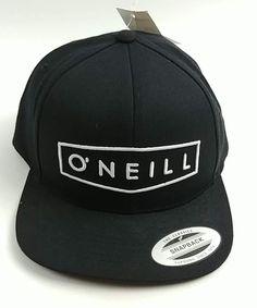 hot sale online 10616 0f4e3 O Neill Men s Unity Hat Cap Black Snapback One Size  ONeill  UnityHat Black