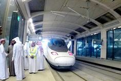 With an expected target of 60 million passengers per year, the Haramain Railway is now fully operational. It will take worshippers between the holy cities of Makkah and Madinah, inshaAllah. Journey To Mecca, Jeddah, Islam, Public, Product Launch, Train, City, Target, Cities