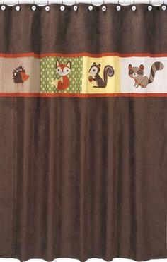 Forest Friends Kids Bathroom Fabric Bath Shower Curtain by Sweet Jojo Designs Sweet Jojo Designs,http://www.amazon.com/dp/B005SSPKY0/ref=cm_sw_r_pi_dp_MKeztb0B0NMT7312