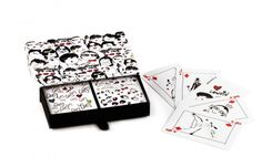 Lanvin Playing Cards, $95, available at Lanvin.  #refinery29 http://www.refinery29.com/13-designer-finds-under-100#slide-2