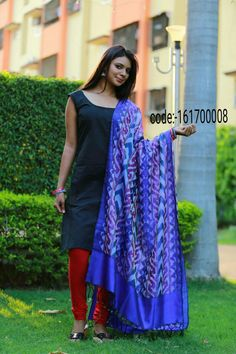 """Grab these colour full """"ikat silk dupattas"""" elegance to your apperance and help to hold your style and look together.... Price:2190/- Wash care : Normal wash (for trade inquiries please contact our whatsapp no  Single / Retail Customer ...please contact 8099433433 B2B/Resellers/Bulk buyers...please contact 8801302000)"""