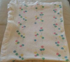 Baby Morgan Balloons Blanket Acrylic Thermal Weave Soft Satin White Trim 36 X 48 Thermal Blanket, Nursery Bedding, White Trim, Future Baby, Baby Ideas, Blankets, Weave, Balloons, Satin