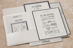 Vintage Funk wedding invitation collection from Arabella Papers. Customize yours with Paper Passionista.