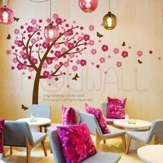 I want this in my baby girl's room when I'm older :) & add a few owls to it ;)
