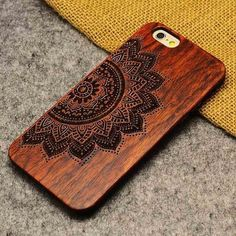 Luxury Bamboo Wood Phone Case For Iphone