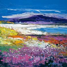 Halaman Bay, Isle of Barra - Limited Edition Giclee Print by John Lowrie Morrision (Jolomo). I have not been to Barra in such a long time, this makes me want to return!