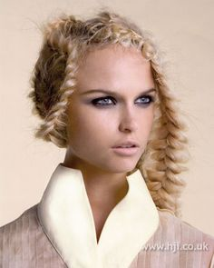 2007 creative plaits hairstyle Hairstyle by: Trevor Sorbie artistic team Salon: Trevor Sorbie Location: London