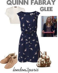 """""""Quinn Fabray - Glee"""" by london2paris on Polyvore"""