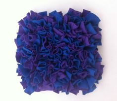Snuffle Mat 12 x 12 for Dogs Dog Toy Puzzle Dog by BrownDogBuys