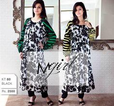 Maria B Long Shirts Designs 2013 For Women