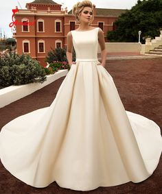 Bilderesultat for wedding dress mikado silk