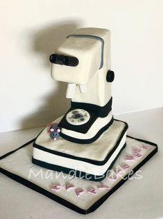 Microscope cake