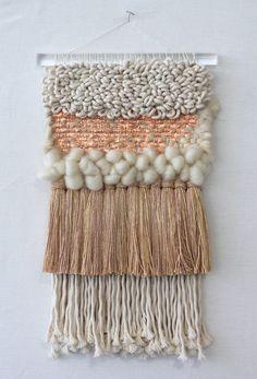 Copper weaving from All Roads Studio