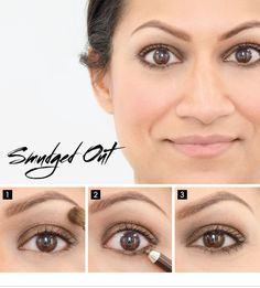 Blur the edges. Find out how to get the Smudged Out look on the #Sephora Glossy> #makeup #eyeliner