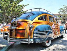 1942 Chrysler Barrel Back Town & Country Estate Wagon