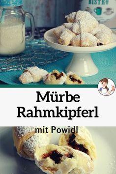 Kiflice Recipe, Torte Recepti, Serbian Recipes, Strudel, Dessert Recipes, Desserts, Sweet Recipes, Food And Drink, Cooking Recipes