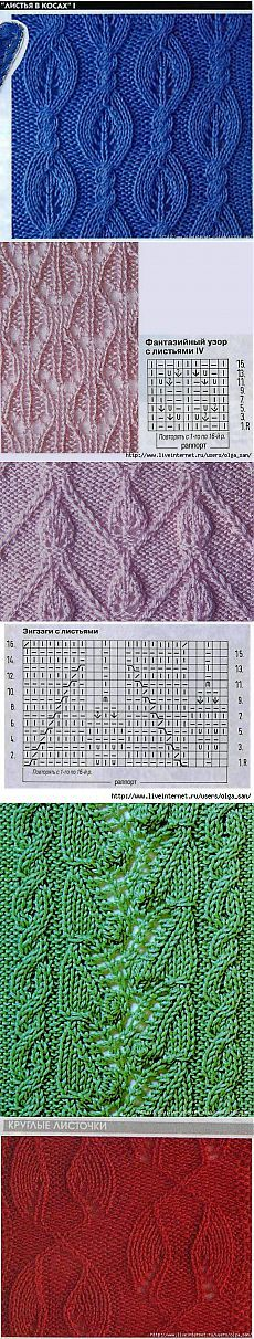 Leaves pattern number 2 (the spokes). Lace Knitting Stitches, Cable Knitting, Knitting Charts, Knitting Designs, Knitting Projects, Hand Knitting, Knitting Patterns, Crochet Patterns, Lace Patterns