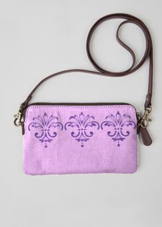 VIDA Leather Statement Clutch - Kay Duncan Serenity AClut by VIDA rxVNA