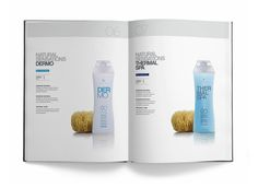 Brand and packaging - Suavipiel bath line by Asier Moreno, via Behance
