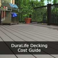 Our DuraLife Deck Cost guide provides a thorough guide to the Prices & Costs for DuraLife decking ranges and designs.