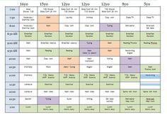 homeschool schedule template