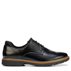 Eastland Men's Parker Plain Toe Oxford Shoes (Black Leather)