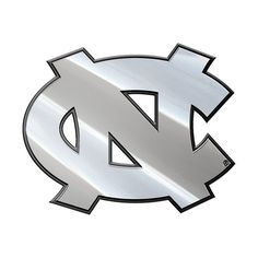 North Carolina Tar Heels Auto Emblem - Premium Metal