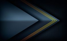 Dark Background With Black Arrow Overlap Layers