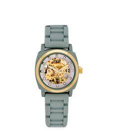 Henri Bendel mechanical spring watch