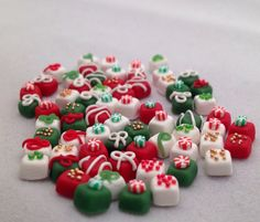 Dollhouse Miniature Christmas Tea Cakes by TheDoctorsOrders, $8.00