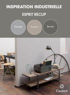 Déco Salon Collection Inspiration Industrielle de GUITTET. Des couleurs qui rappellent le v