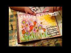 ▶ Art Journal walk through - PART TWO - YouTube