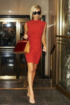 Victoria Beckham Leaving The Lowell Hotel In New York September 12 2007