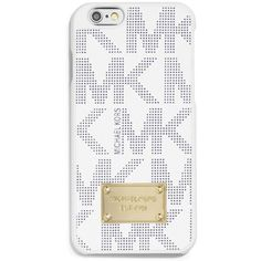 MICHAEL Michael Kors iPhone 6 Case ($40) ❤ liked on Polyvore featuring accessories, tech accessories, phone cases, phone, electronics, cases and michael michael kors