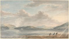 Paul Sandby, 'The Tide Rising at Briton Ferry,' 1773, National Gallery of Art, Washington D.C.