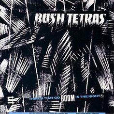 Neville Brody (designer), Bush Tetras album cover 1981.