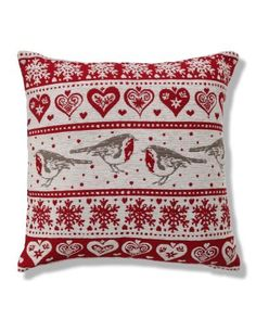 Robin Chenille Cushion - Marks & Spencer