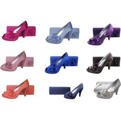 Evening Shoes And Matching Bags in a choice of nine fabulous colours