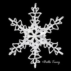 100 Free Crochet Snowflakes @ crochetreasures - Oh Myyy Crochet Christmas Decorations, Crochet Decoration, Crochet Ornaments, Holiday Crochet, Snowflake Ornaments, Christmas Snowflakes, Christmas Tag, Xmas, Crochet Angels