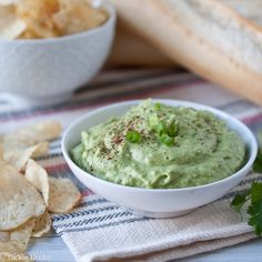 Broccomole: Broccoli Guacamole. Only 20 calories a serving and totally creamy and addictive.