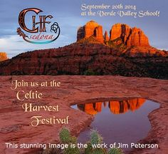 Dust off those kilts, and get ready to experience the rich traditions that Celtic folk hold dear at the Sedona Celtic Harvest Festival taking place in Sedona, Arizona on August the 20th, 2014!