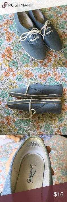 Cute Grasshoppers Shoes Denim colors grasshoppers granny style shoes. Grasshoppers Shoes