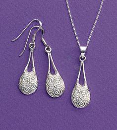 New for Fall - Newgrange Spirals Jewelry, inspired by Ireland
