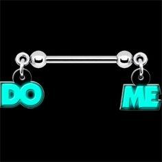 14 Gauge Glow in the Dark Do Me Nipple Ring Set - Trend Jewelry Model 2019 Golden Jewelry, White Gold Jewelry, Nipple Rings, Belly Rings, Body Piercings, Piercing Tattoo, Opal Jewelry, Body Jewelry, Jewelry Model