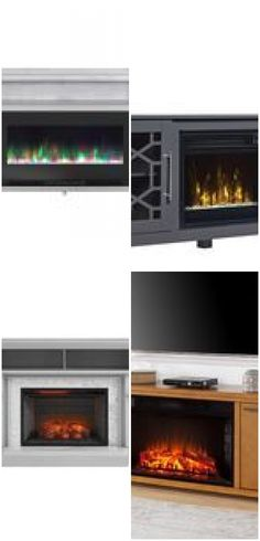 Classic Flame Clarion Fireplace TV Stand for TVs up to , , Fireplace Vent, Corner Gas Fireplace, Fireplace Tv Stand, Fireplace Design, Fireplace Pictures, Tvs, Classic Fireplace, Electric Fireplaces, Home Decor