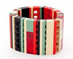 Lego jewelry by Emiko Oye